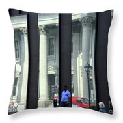 Bank Of Montreal Reflection Throw Pillow