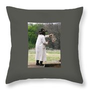 Bank Robbery Throw Pillow