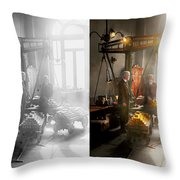 Banker - Worth Its Weight In Gold 1917 Side By Side Throw Pillow
