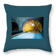 Bankhead Tunnel Throw Pillow