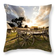 Bannack Montana Ghost Town Throw Pillow