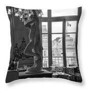 Banquet Room At The Musee D Orsay Throw Pillow