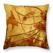 Bantu - Tile Throw Pillow