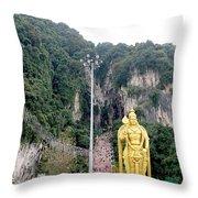 Bantu Caves, Malaysia Throw Pillow