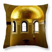 Baptismal Font Throw Pillow