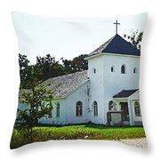 Baptist Church Throw Pillow
