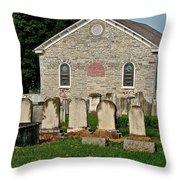Baptize  Marry  Bury Throw Pillow