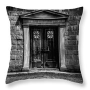 Bar Across The Door Throw Pillow
