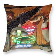 Bar Decor Throw Pillow