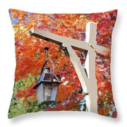 Bar Harbor Color Throw Pillow