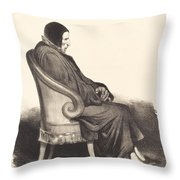 Barb?-marbois Throw Pillow