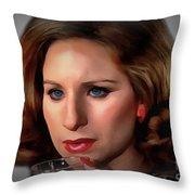 Barbara Streisand Collection - 1 Throw Pillow