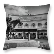 Barbaro Throw Pillow