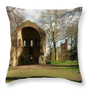 Barbarossa Ruin And Belvedere Throw Pillow