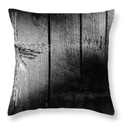 Barbed Wire Cross Throw Pillow
