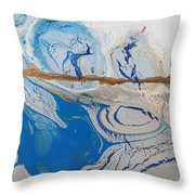 Barbed Wire Lovely Couple Throw Pillow