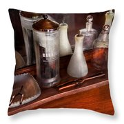 Barber - On The Counter Throw Pillow