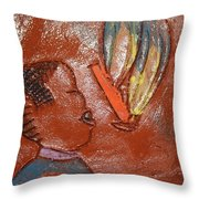Barber Day - Tile Throw Pillow