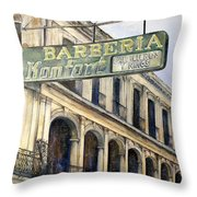 Barberia Konfort Throw Pillow