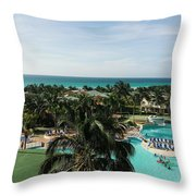 Barcelo Solymar Arenas Blancas  Throw Pillow