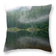 Barclay Lake, Reflected Throw Pillow