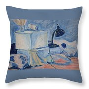 Bare Bones Throw Pillow