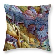 Bark Abstract Throw Pillow
