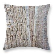 Bark, Moringa Tree Throw Pillow