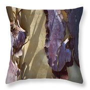 Bark Texture Throw Pillow