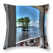 Barker House View Throw Pillow