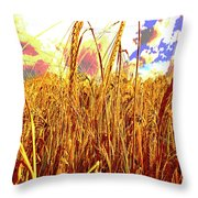 Barley Throw Pillow