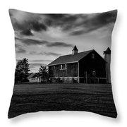 Barlow Farm Park Throw Pillow