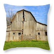 Barn 101 Throw Pillow