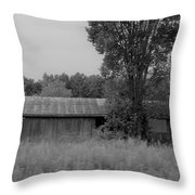 Barn 17 Throw Pillow