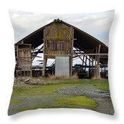 Barn 2018_1_24-13 Throw Pillow