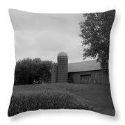 Barn 6 Throw Pillow