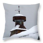 Barn Cupola Throw Pillow