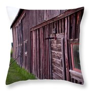 Barn Door Small Throw Pillow