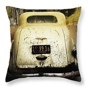 Barn Find Throw Pillow
