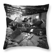 Barn Find Throw Pillow