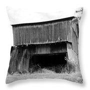 Barn In Kentucky No 79 Throw Pillow