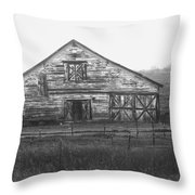 Barn Of X Throw Pillow