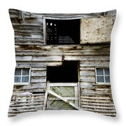Barn Side Throw Pillow
