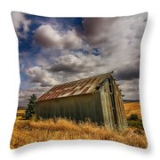 Barn Solitude Throw Pillow