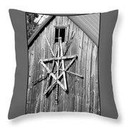 Barn Star Throw Pillow