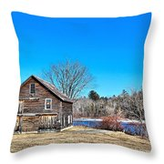 Barn_0185 Throw Pillow