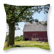 Barn.61 Throw Pillow