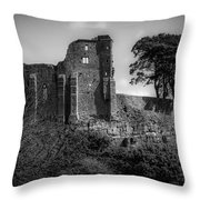 Barnard Castle Throw Pillow