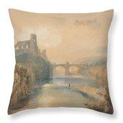 Barnard Castle Throw Pillow