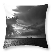 Barnstable Harbor Sky Throw Pillow